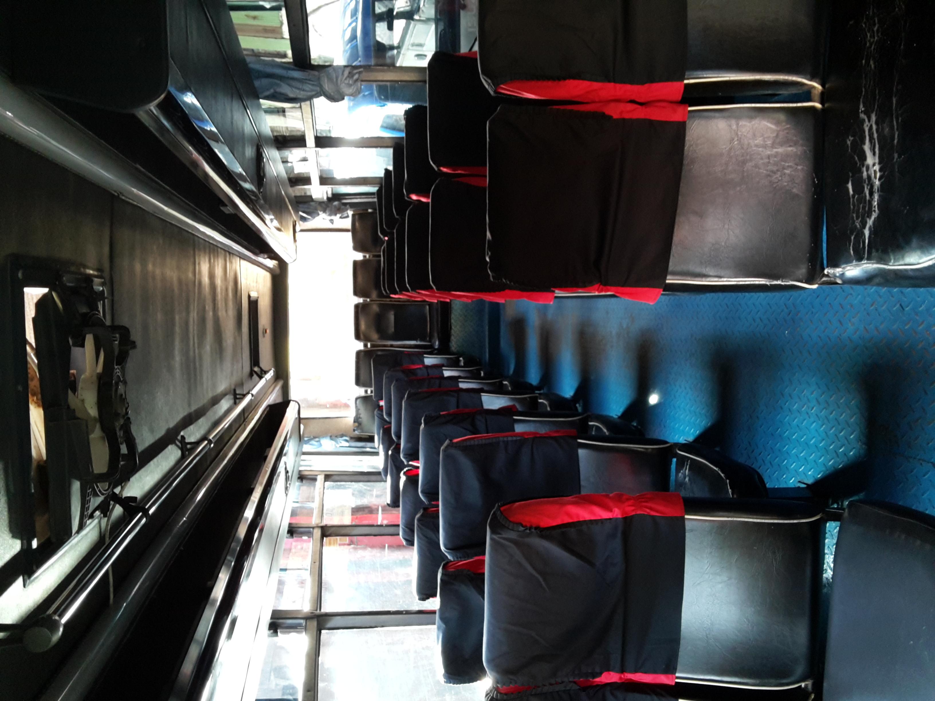 Interior Bus Pariwisata Non Ac Seat 27-30